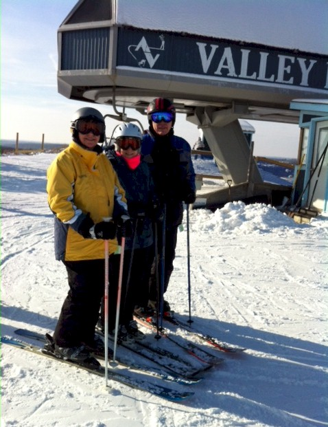 Powder Dogs had a great skiing Alpine Valley.