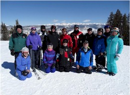 Group ski trips are fun, save you money and you meet new people.