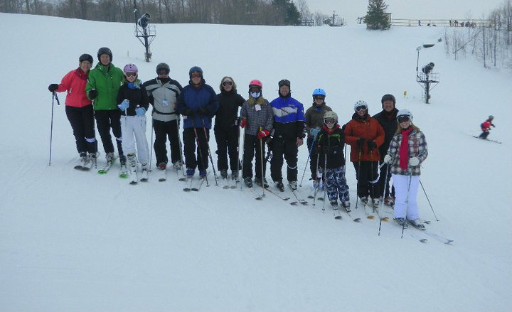 The Powder Dogs had a great skiing Boyne Highlands.