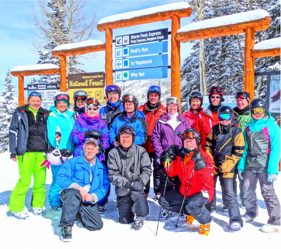 Powder Dogs Group at Steamboat 2015