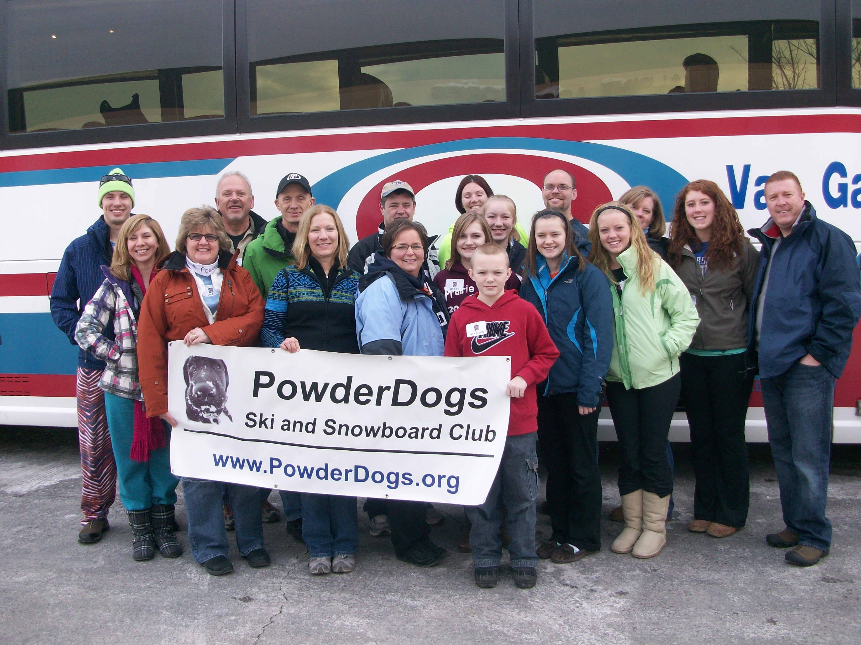 These Powder Dogs had a great skiing Granite Peak.