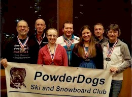 The Powder Dogs Race League Team
