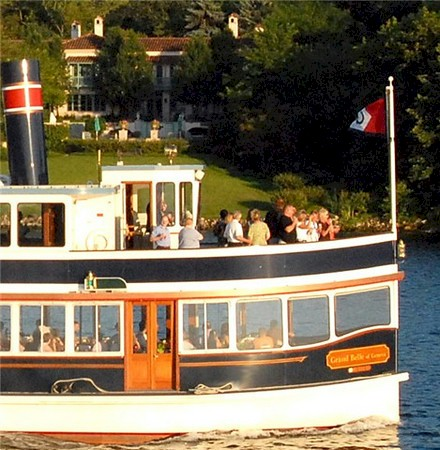 Lake Geneva dinner cruise