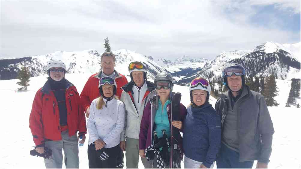 Powder Dogs had a great skiing Snowmass.